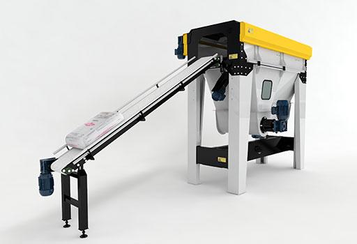 Abridora de bolsas semiautomática / semi automatic opening bags machine