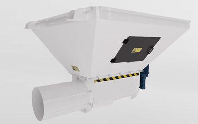 Compactador de bolsas vacías / Empty bags compactor